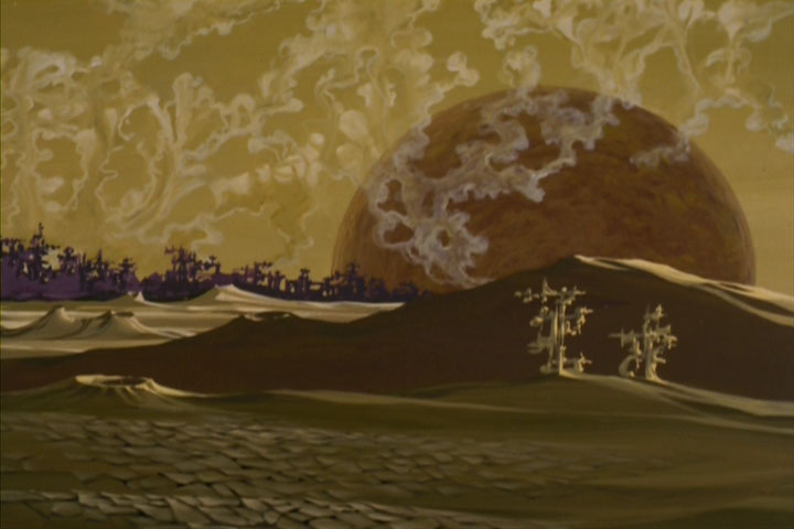 "T'Kuht was part of the Vulcan landscape in animated episode ""Yesteryear."""
